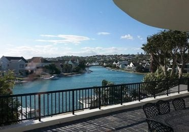View from Port Alfred accommodation