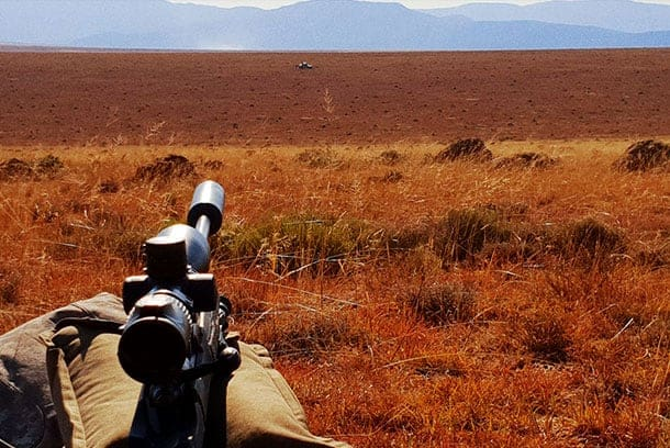 These plains are where Springbok, Blesbok, and Black Wildebeest are to be found.