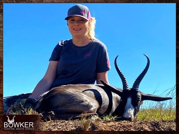 Black Springbok hunting