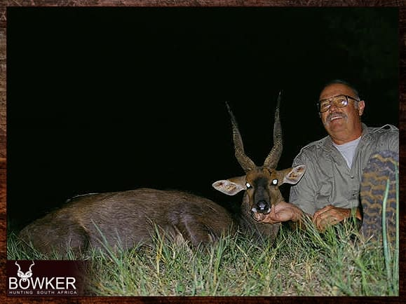 Trophy shot in the Eastern Cape