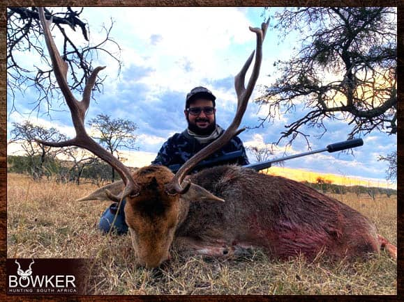 Trophy shot in South Africa