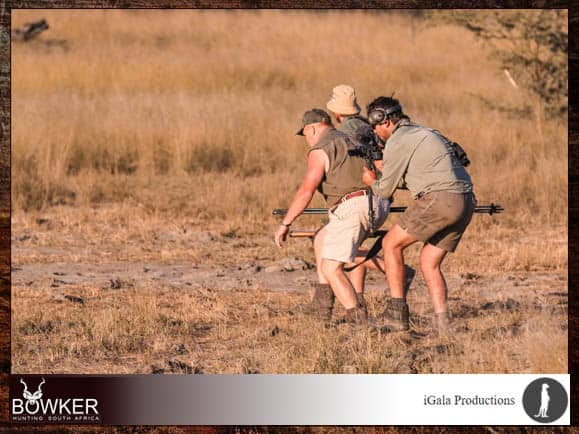 Film your african hunting safari in south africa