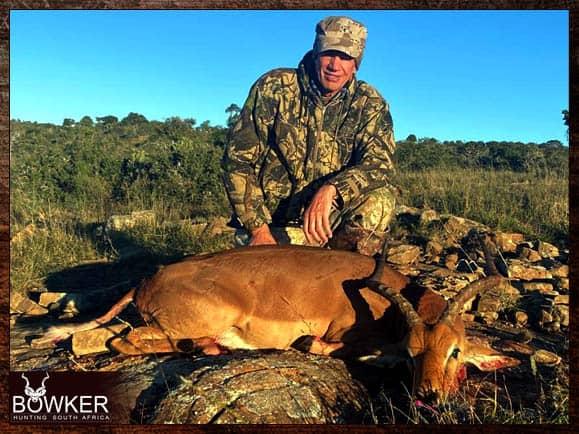 Impala shot in the Eastern Cape
