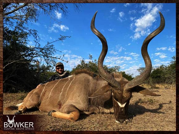 Trophy shot in the Eastern Cape South Africa