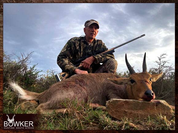 Mountain Reedbuck Cull hunting with Nick Bowker Hunting