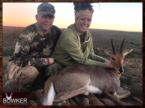 Review of Nick Bowker Hunting - Mountain Reedbuck trophy.
