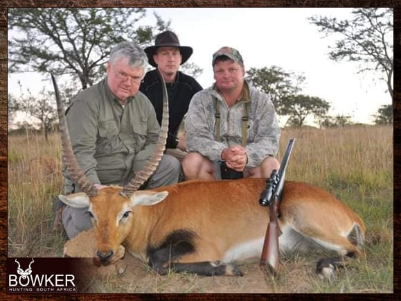 Red lechwe trophy shot with Nick Bowker Hunting.
