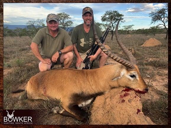 Red Lechwe hunting