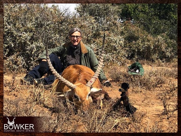 Trophy hunted with Nick Bowker Hunting