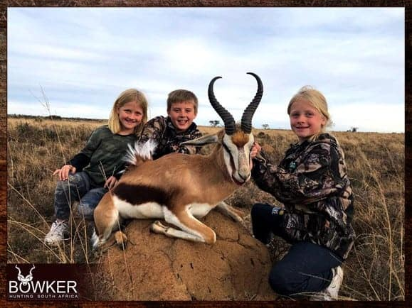 Springbok hunting is very similar to blesbok hunting as they share the same characteristics.