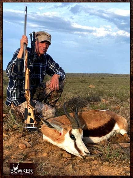 Springbok shot in the Eastern Cape