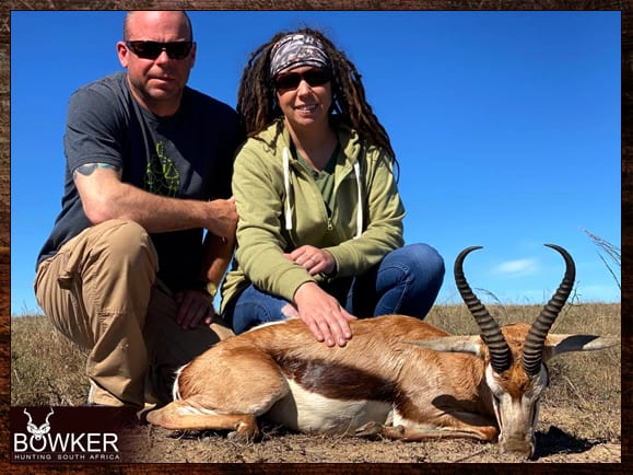 Review of Nick Bowker Hunting - springbok trophy.