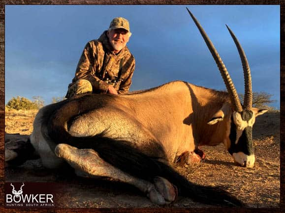 Video your gemsbok hunt with Nick Bowker Hunting