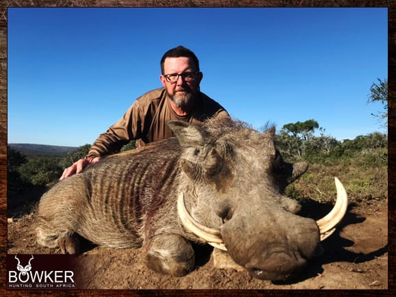 Trophy shot in the Eastern cape South Africa with Nick Bowker Hunting