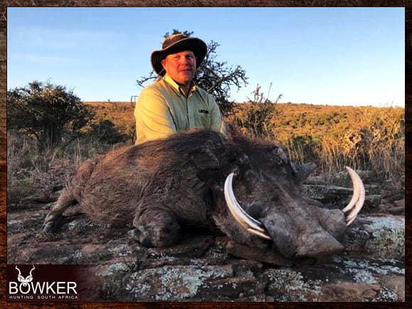 Wartog hunting with Nick Bowker