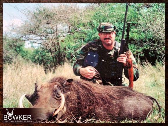 Warthog hunt with Nick Bowker
