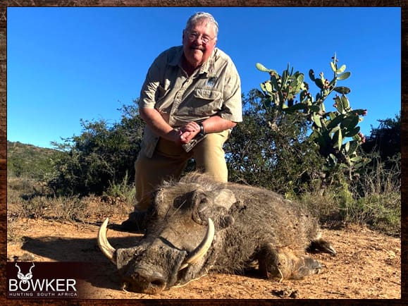 Review of Nick Bowker Hunting - Warthog trophy.