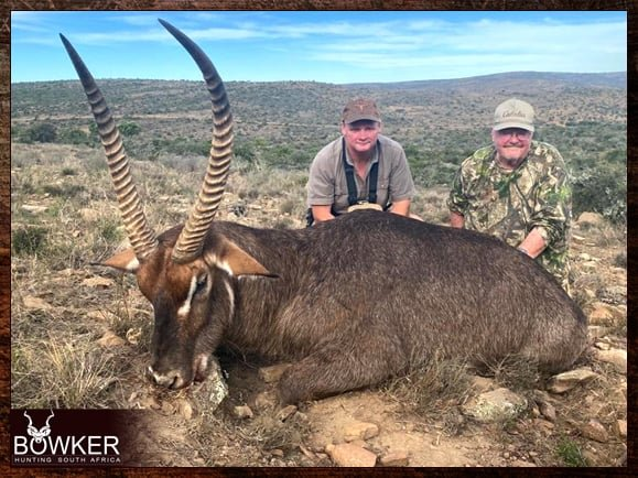 Review of Nick Bowker Hunting - Waterbuck trophy.