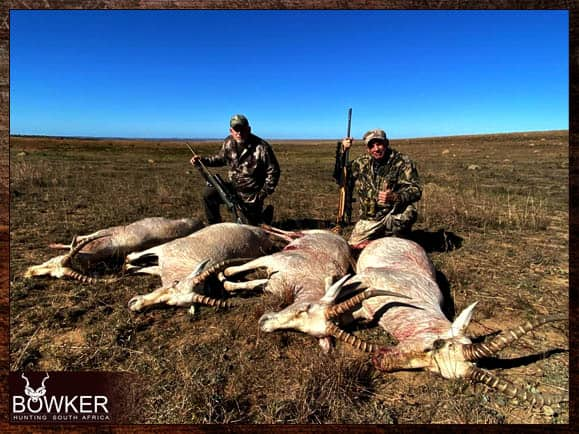 Cull hunting in South Africa with Nick Bowker