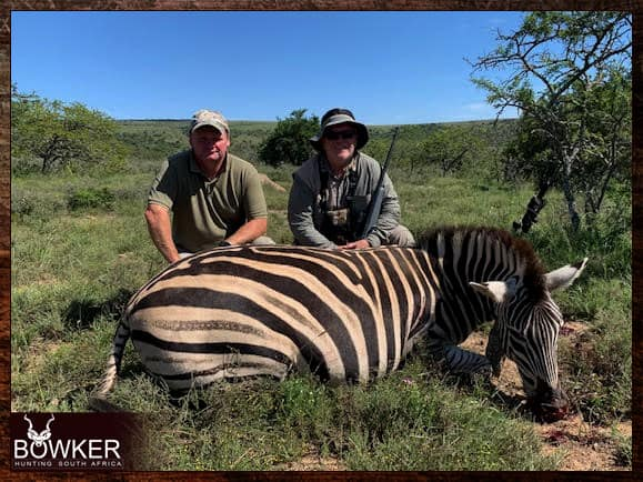 Zebra Hunting with Nick Bowker